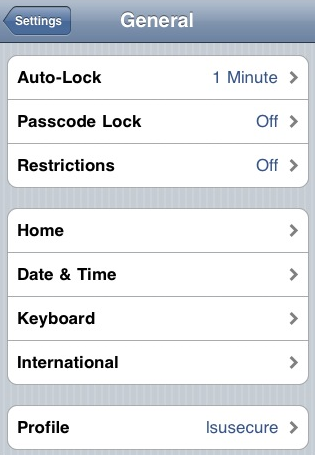 iPhone 3GS: How to Turn Passcode Lock Off? - GROK Knowledge Base