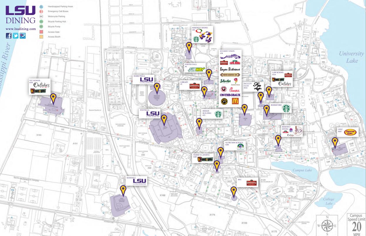 Lsu Campus Map 2016.Grok Knowledge Base