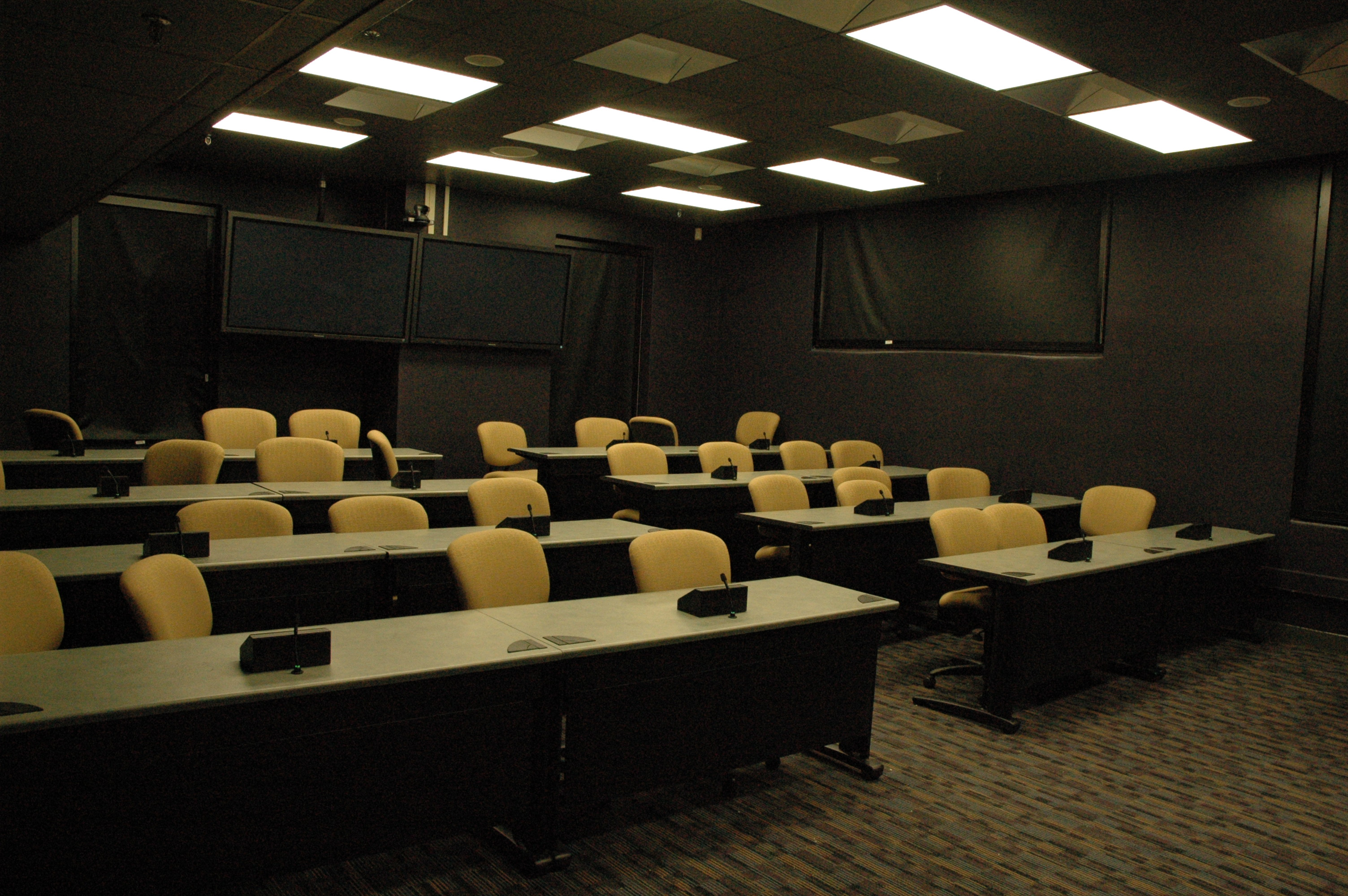 View 1 of Video conference room, Coates 202.