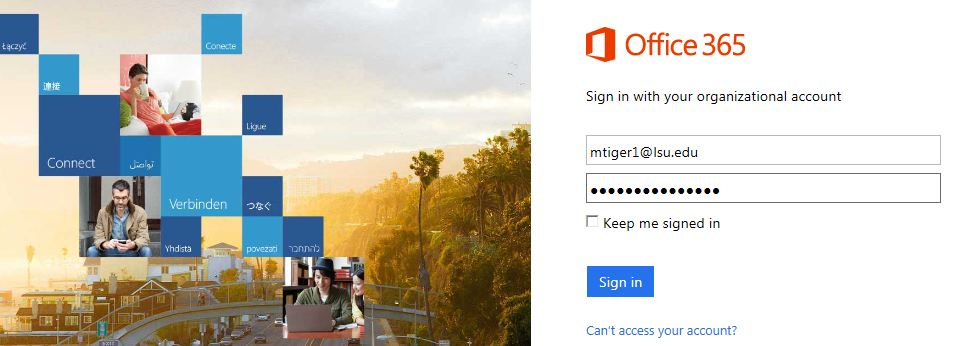 microsoft office mail front page