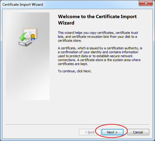 LSUMail: Install a Client Certificate from InCommon in Outlook 2010 ...