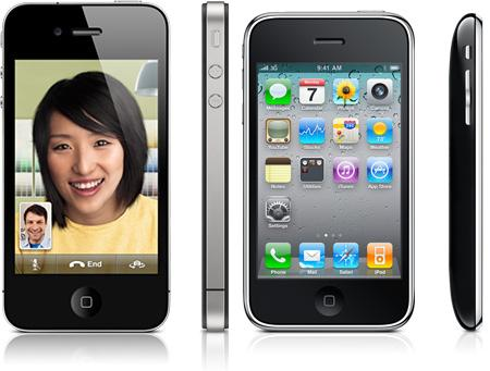 This shows the iPhone 4 and iPhone 3Gs