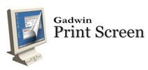 Gadwin print screen's logo