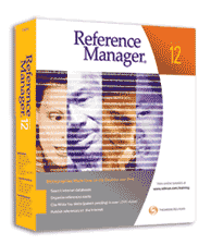screenshot of Reference Manager logo