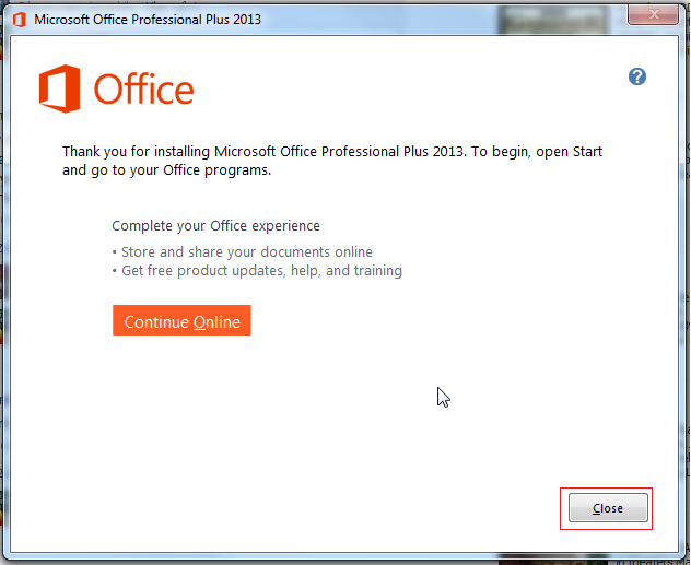 Microsoft Office 2013: Installation Instructions (Students On The ...
