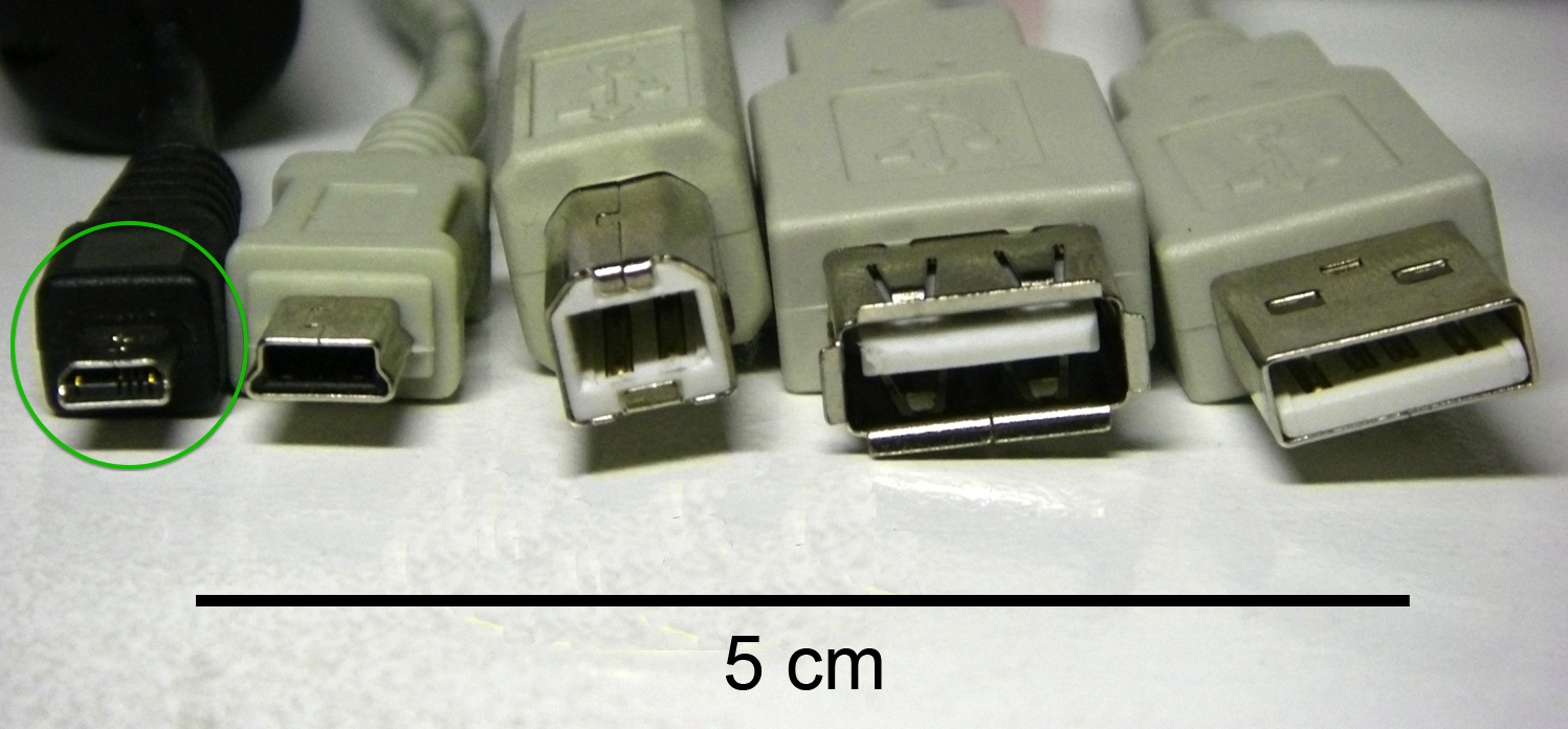 different types of USB cables