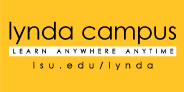 screenshot of the lynda campus logo.