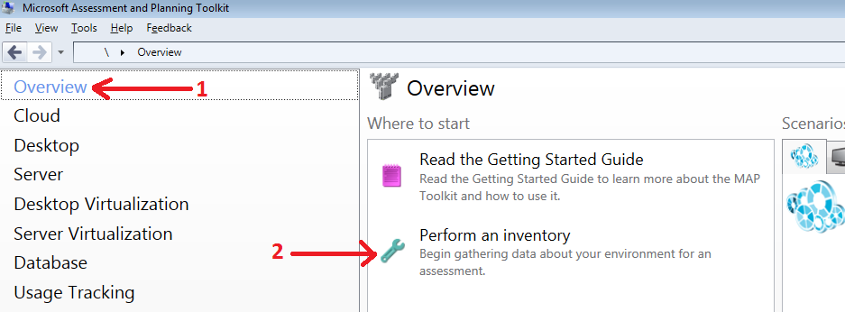 Overview and Perform an inventory.