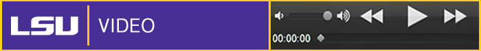 LSU Online Video Banner