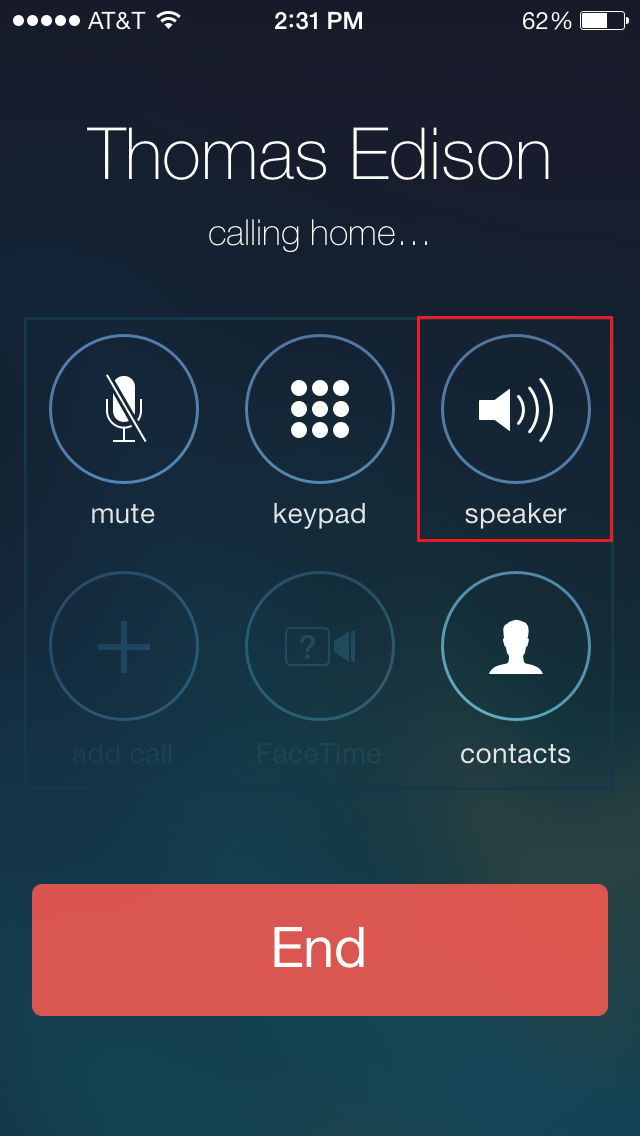 Image Result For How To Set Iphone Speaker As Default For Incoming Calls