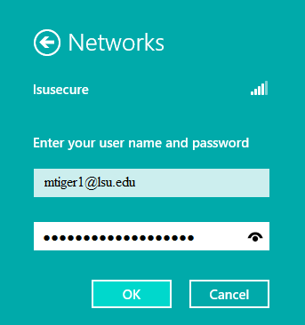 Entering PAWS ID and Password into the correct fields to login.
