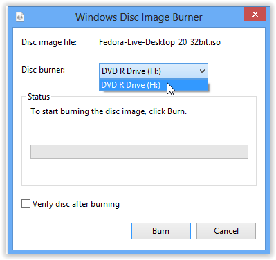 Burning CDs/DVDs from ISO in Windows: LSU Overview - GROK
