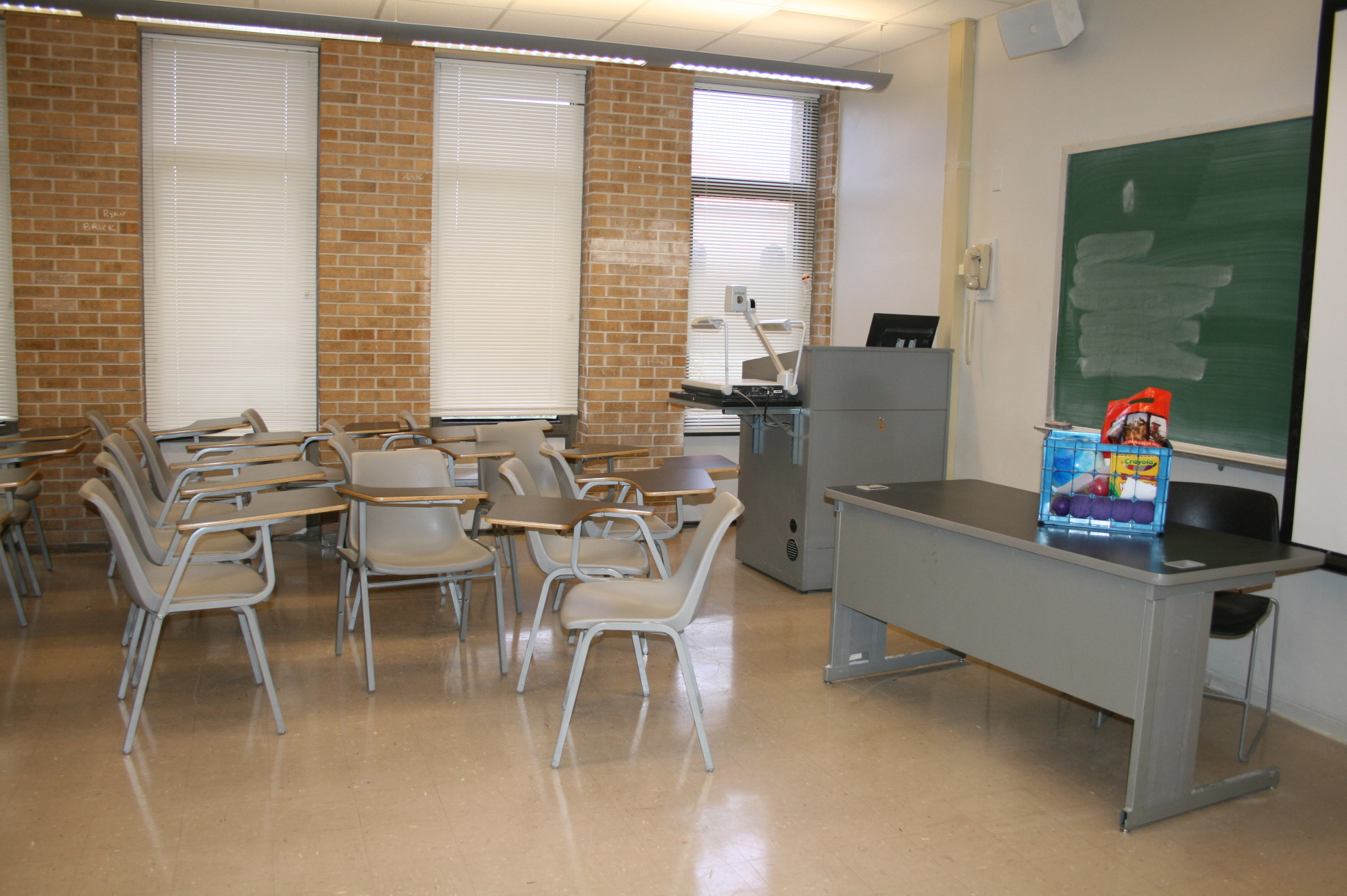 Lockett 232 from back of room