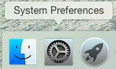 System Preferences Selection Yosemite