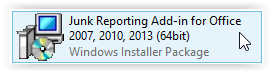 Junk Reporting Add-In Download Icon