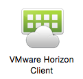 screenshot of the VMware Horizon Client icon