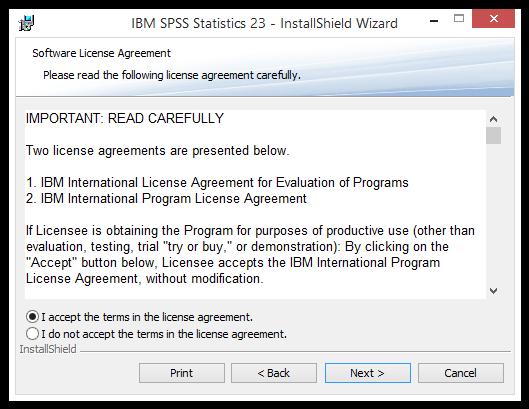 SPSS 23: Installation Instructions (Windows) - GROK