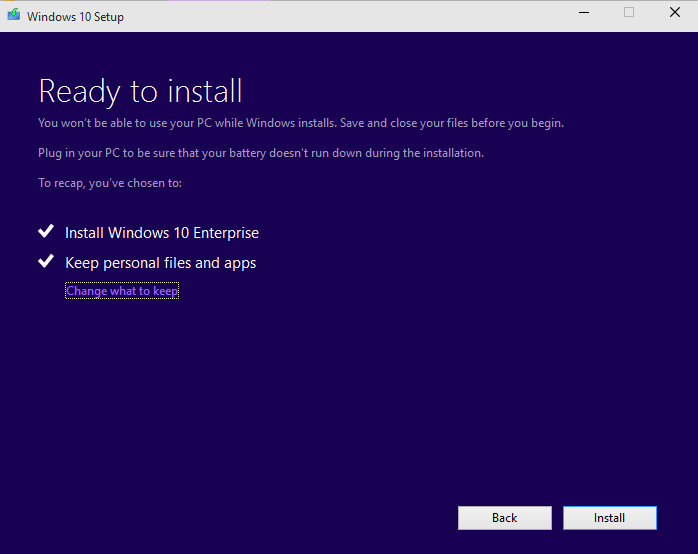 update for windows 8 to 10