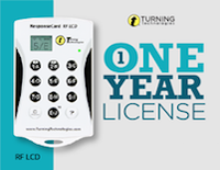 one year license screen
