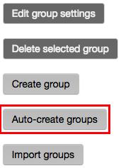 The auto-create groups button.
