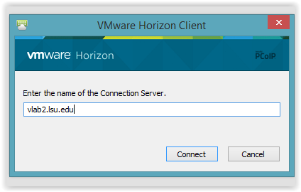 VMware Horizon Connection Serve information