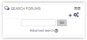 search forums block