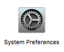 System Preferences button