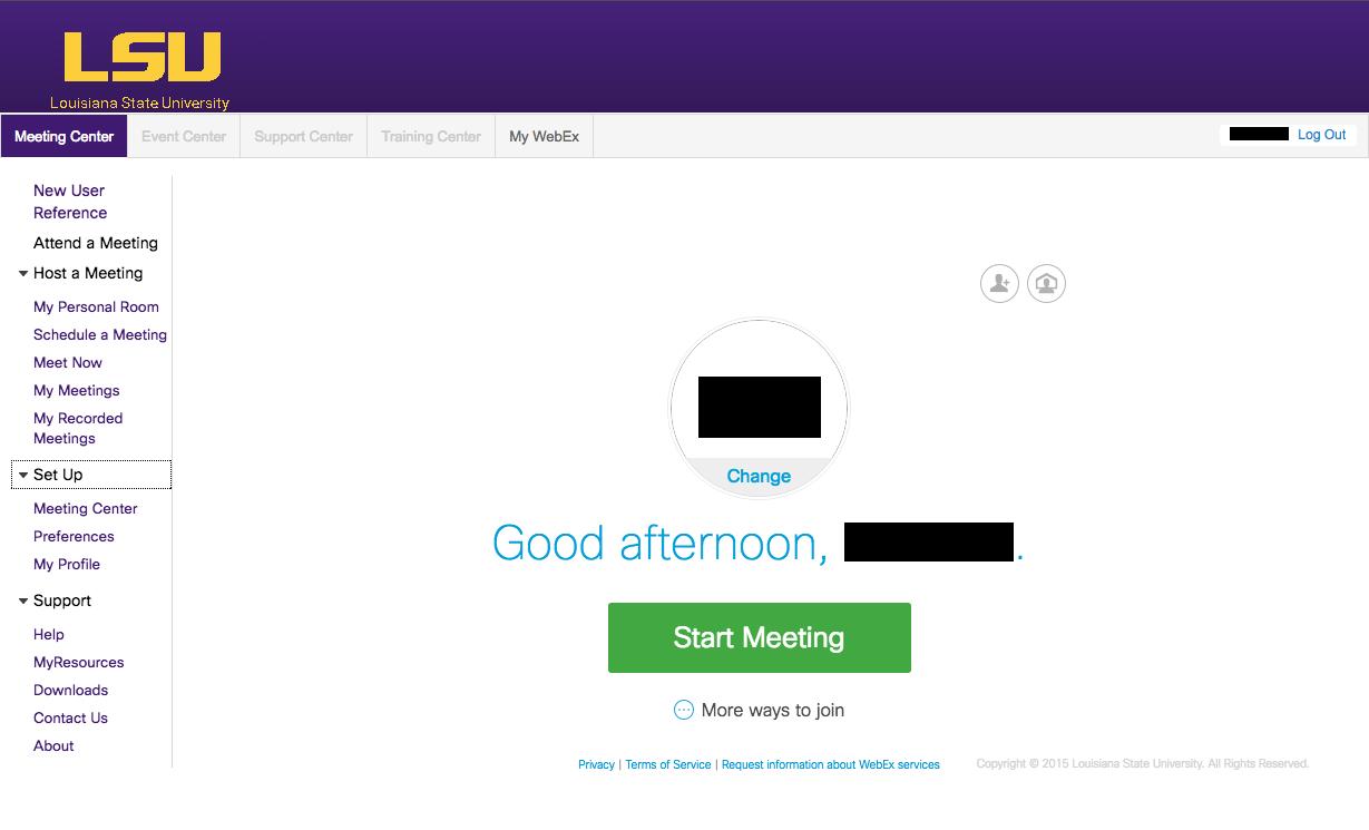 how to create webex meeting