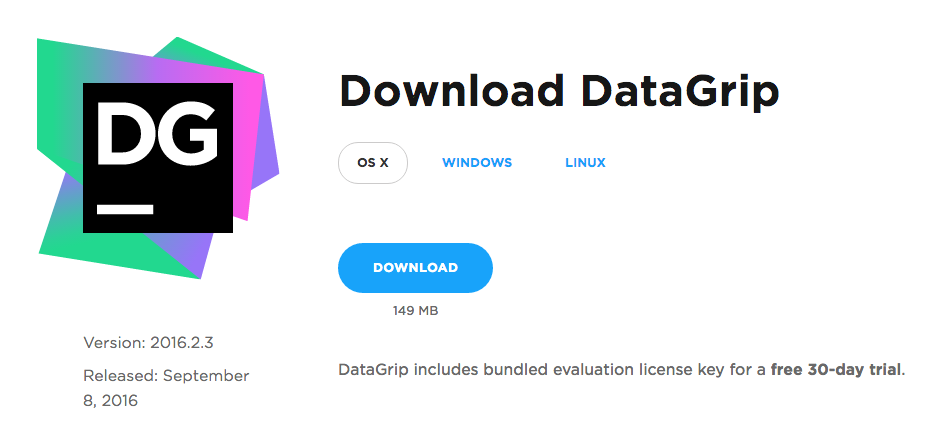 DataGrip: Installation Instructions (Mac) - GROK Knowledge Base