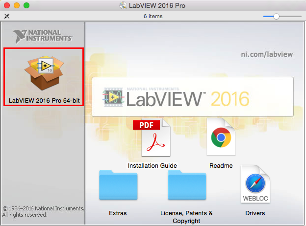 LabVIEW: Installation Instruction (Mac) - GROK Knowledge Base