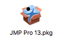 JMP Pro 13 package icon
