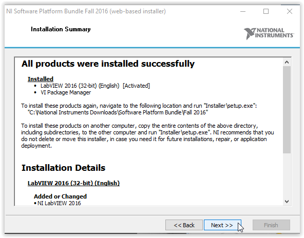 LabVIEW: Installation Instruction (Windows) - GROK Knowledge