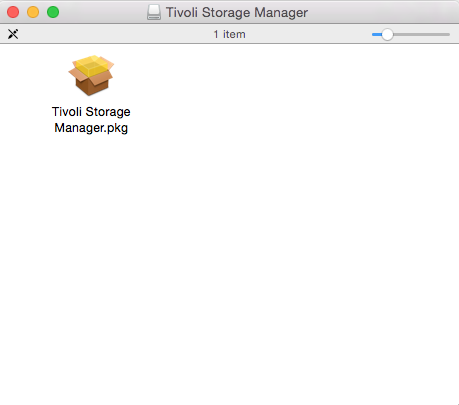 The storage manager icon