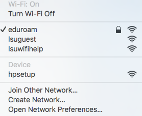 eduroam wifi network