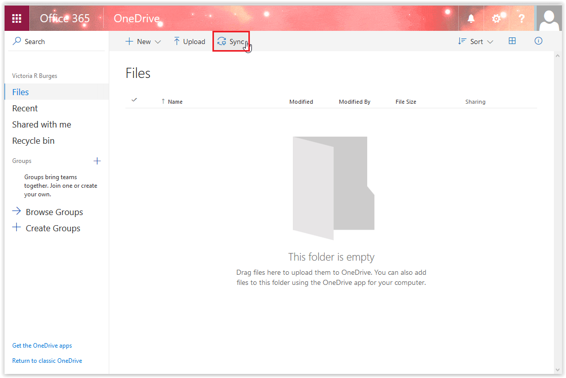 microsoft onedrive app how to have documents appear offline