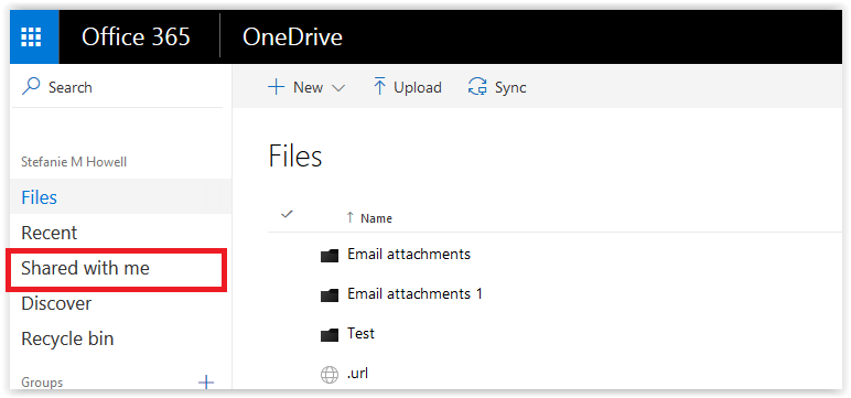 OneDrive for Business (Office365): Manage Documents that