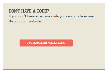 Purchase Access Code
