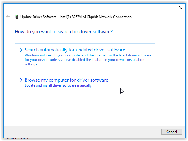 how to install network adapter windows 10
