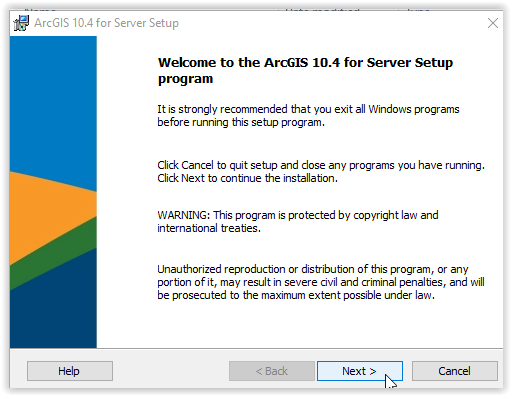 ArcGIS Server: Installation Instructions (Windows) - GROK Knowledge Base