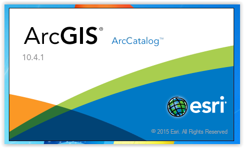 Logging into the ArcGIS program