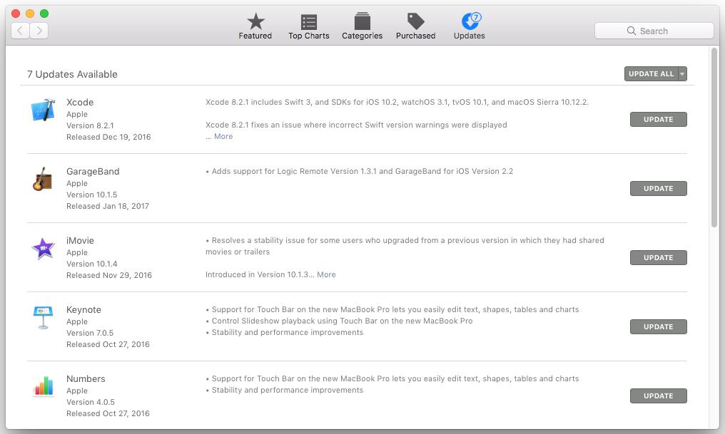 Mac: Update Software - GROK Knowledge Base