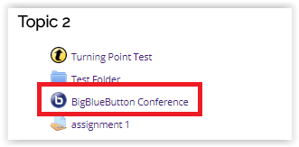 bigbluebutton link in moodle