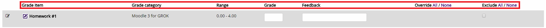 View once the Single view for (student's name) icon is opened
