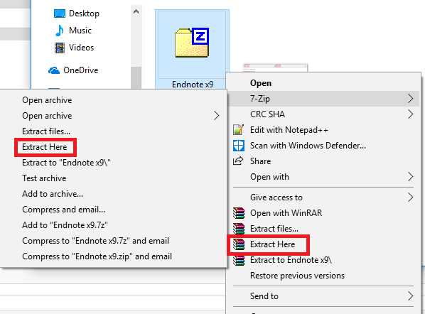 EndNote X9: Installation Instructions (Windows) - GROK Knowledge Base